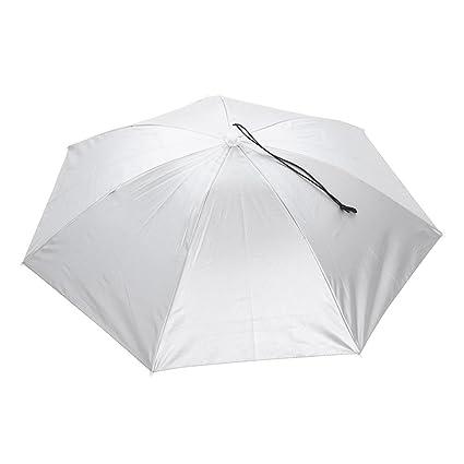 Broadroot Sombrero de Paraguas para Exteriores, Impermeable, Plegable, para Acampada, Senderismo,