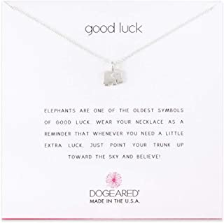 product image for Dogeared Good Luck Elephant Sterling Silver Necklace