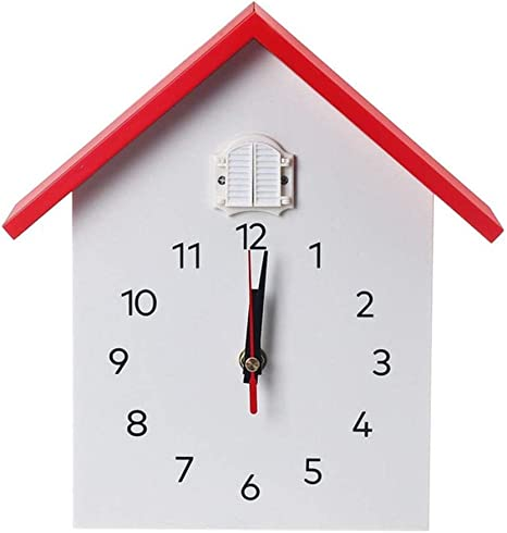 Wtaynsl Reloj De Pared De Cuarzo Con Diseño De Cuco Moderno Para Colgar Pájaros Decoración Despertador Para El Hogar Sala De Estar A La Moda Hora De La Casa Home