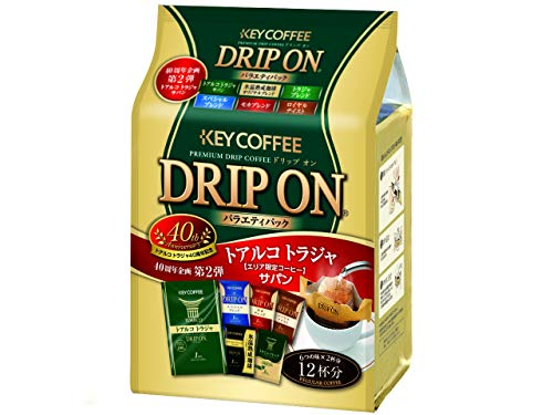 KEY COFFEE 드립백 커피 온 버라이어티 팩 (8g×12P)×3개