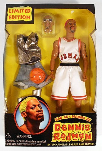 Dennis Rodman  Bad as I Wanna Be  12  Figure by Street Players by Street Players