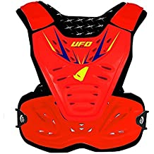 Ufo Fluo Red Reactor 2 Evolution Mx Chest Protector (Default, Red)