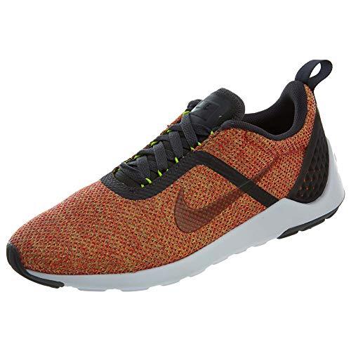 Nike Men's Lunarestoa 2 SE Brght Crmsn/Anthrct Fchs Flsh Running Shoe 9.5 Men US 821772-600