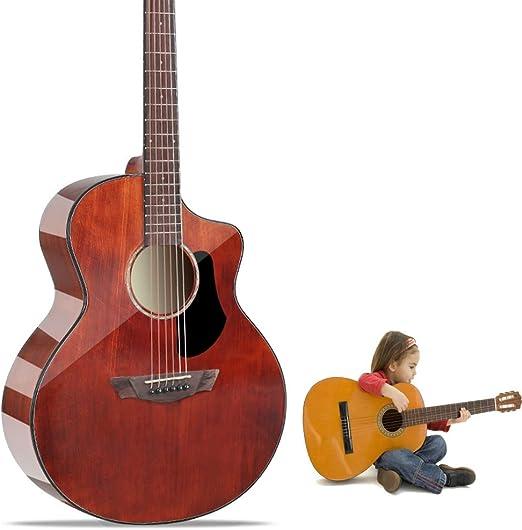 Guitarra Acústica Guitarras acústicas con Funda Guardia Pick 6 ...