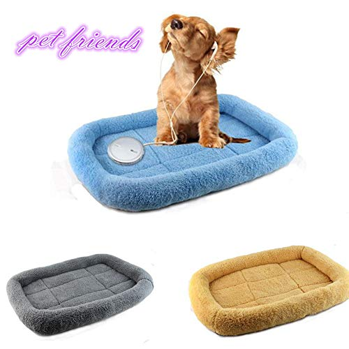Glumes New Polar Fleece Pet Bed, Soft and Washable Pet Mat Dog House Small Medium Large Pet Animal Small Dog Bed Ideal by Glumes (Image #2)