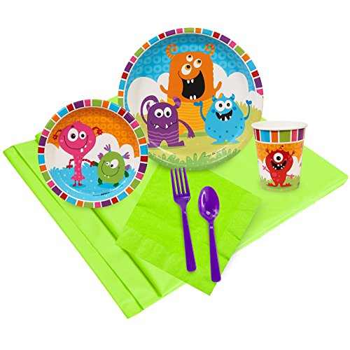 BirthdayExpress Aliens and Monsters Party Supplies - Party Pack for 8