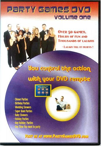 Party Games DVD - Over 50 Party Games on One DVD and Played on Your TV!