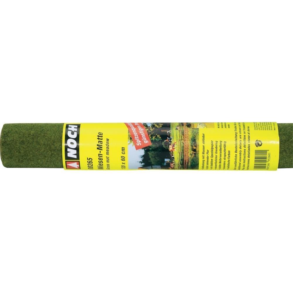 Noch 265 Grass Mat 120x60cm Meadow  G,0,H0,TT,N,Z Scale