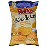 Baked Lay's Oven Baked Ruffles Cheddar Sour Cream, 6.25 oz by BAKED LAYS