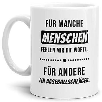 Tasse Ich Hasse Menschen Schwarz Lustige Kaffeetasse Mit Spruch