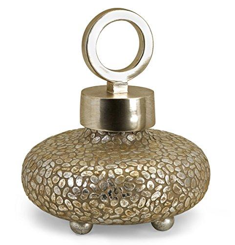 IMAX 13453 CKI Round Myriad Lidded Vase