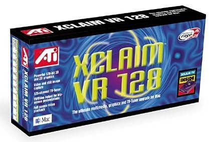 ATI XCLAIM VR DRIVER DOWNLOAD