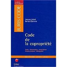 CODE DE LA COPROPRIÉTÉ 2004-2005