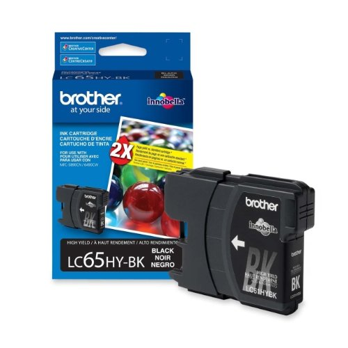 BRTLC65HYBK - Brother High Yield Black Ink Cartridge