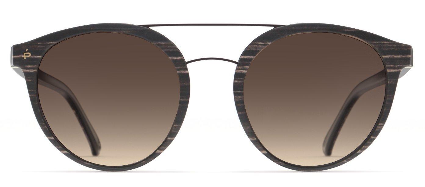 PRIVÉ REVAUX Places We Love Collection''The Texan'' Polarized Designer Round Sunglasses RandM Colab