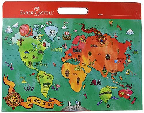 (Faber Castell My World of Art Portfolio - 8 Expandable Folder Pockets for Children's Artwork)