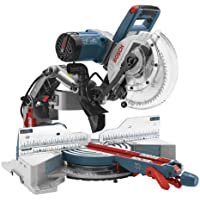 Bosch CM10GD Compact 15 Amp Corded 10 in. Dual-Bevel Sliding Glide Miter Saw with 60-Tooth Carbide Saw Blade