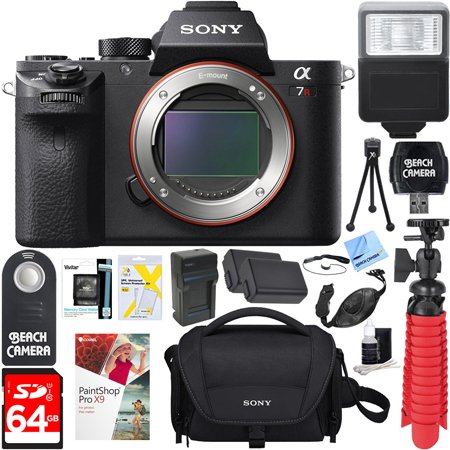 sony-a7r-ii-full-frame-mirrorless-424mp-camera-body-64gb-sdxc-memory-card-soft-carrying-case-np-fw50