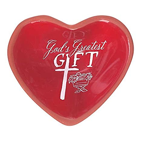 Amazon gods greatest gift heart 3 x 1 terracotta gods greatest gift heart 3 x 1 terracotta miniature christmas tabletop tray negle Gallery