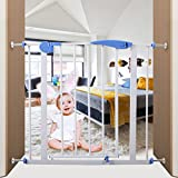 Iron Baby Safety Gate Locking System Door