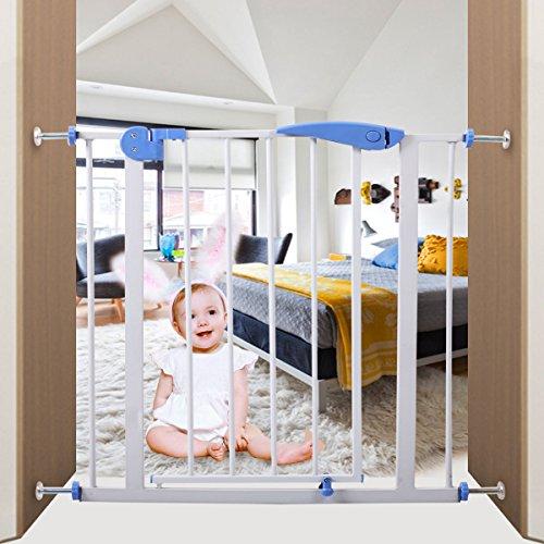 Iron Baby Safety Gate Locking System Door by Pinna store
