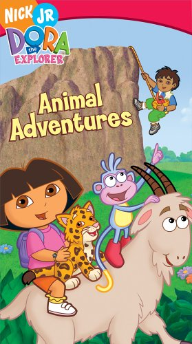 VHS : Dora the Explorer - Animal Adventures [VHS]