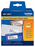 Office Products : Brother DK-1201 Die-Cut Standard Shipping Labels