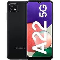 Samsung Galaxy A22 5G – Smartphone libre con 6.6 Pulgadas 128GB y Sistema Operativo Android Gris Versión ES