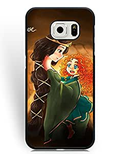 SkinMethods-Fundas Case Brave Princess Merida for Samsung Galaxy S6 Edge Defender Fundas Caso para Galaxy S6 Edge Movie