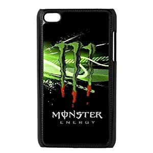 Classic Case Monster Energy pattern design For Ipod Touch 4 Phone Case