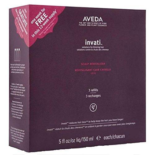 Aveda Invati Scalp Revitalizer Trio-Pack, 5 fl Ounce ()