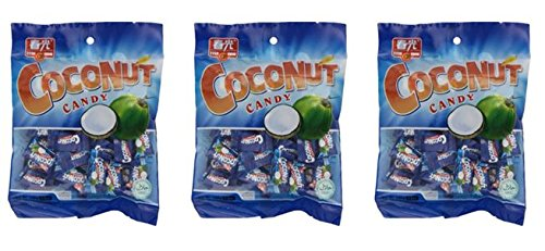 Chun Guang Coconut Candy, 5.6 Ounce (Pack of 3)