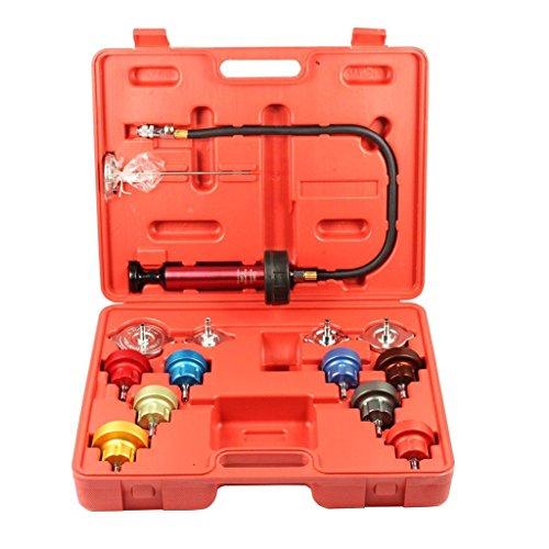 SPTTOOLS Water Tank Pressure Leak Detector Radiator Diagnostic Tester Tool Kit OMY