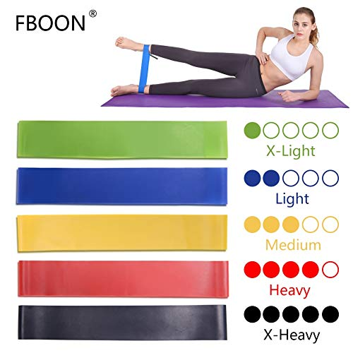 Elastic Resistance Bands Workout Rubber Loop for Fitness Gym Strength Training Elastic Bands Athletic Fitness Equipment Expander Hotin