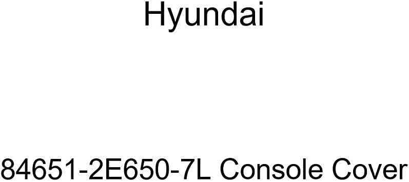 Genuine Hyundai 84651-2E650-OF Console Cover