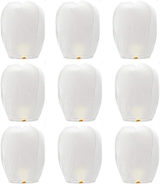 Linternas chinas de Onewell Lámparas de papel biodegradable ...