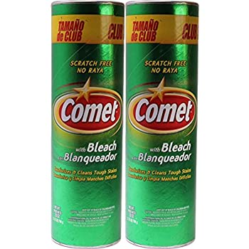 Comet Cleanser with Bleach 28 ounce, (Pack of 2)