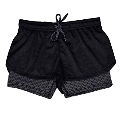 Adelina Ladies with Fitness Pantalones Yoga Pants Ladies Hot Shorts Ladies Moda Completi Double Yoga Shorts Ladies Sports Shorts Ladies Fitness Shorts Ladies Casual Pantalones De Playa Ladies Shorts: Ropa y accesorios