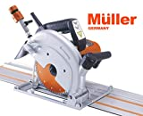 Müller 7 inch Wet granite track saw with 110'' rail Bridge Saw