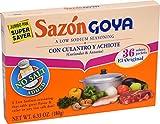 Goya Foods Sazon Coriander & Annatto No