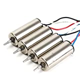 8 wire rotor cable - Quickbuying 2Pair 8mm Motor Set 2CW and 2CCW Motor for Hubsan X4 H107D H107C H107-A23 Quadcopter fit Rotor Blade