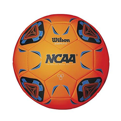 Wilson NCAA Copia II Soccer Ball, Orange - Size 5