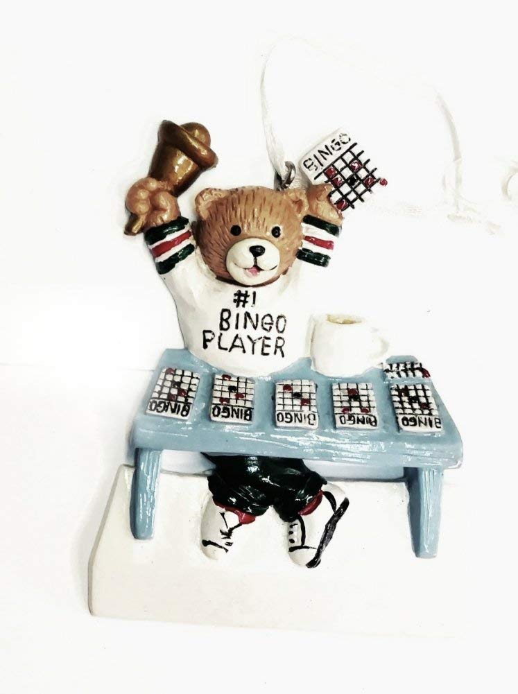 Home For ALL The Holidays Personalize-able Ornaments (BINGO PLAYER) by Home For ALL The Holidays