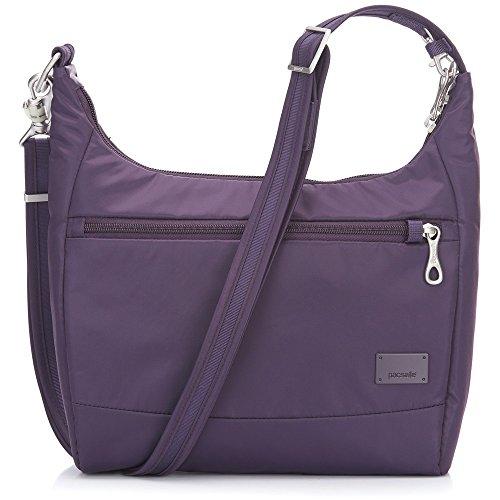 PacSafe Women's Citysafe Cs100 Anti-Theft Travel Handbag-Mulberry Cross-Body Bag, One ()