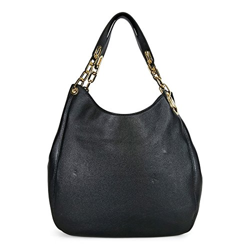 Michael Kors Fulton LG Shoulder Tote BLACK