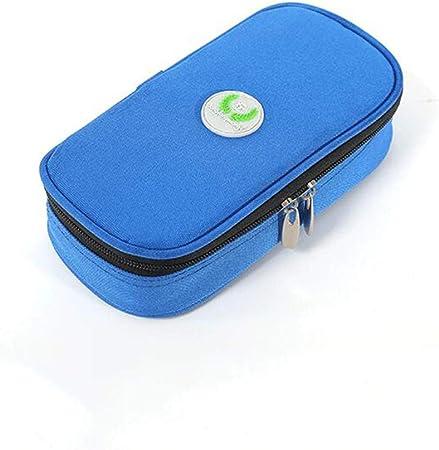 La insulina Caja refrigerada, Bolsa refrigerada portátil, Bolsa de Aislamiento, interferón Pluma Bolsa frío con 4 Agentes fríos: Amazon.es: Hogar