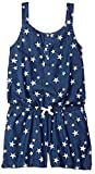 Levi's Big Girls' Romper, Blue Winds Stars, XL