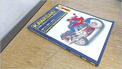 Kawasaki ZX600 ZZ-R600 and Ninja ZX-6 Fours Owners Workshop ...