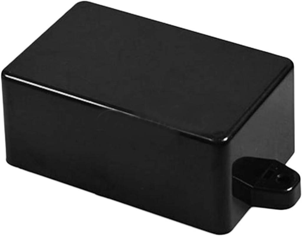 82 * 52 * 35 Noir BIYI Heavy Gauge Construction en plastique extrud/é Couvercle en plastique /étanche Projet Bo/îte de bo/îtier de bo/îtier pour instrument /électronique