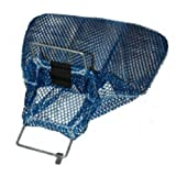Galvanized Wire Handle Mesh Bags with D-Ring- Small for Scuba or Water Sports